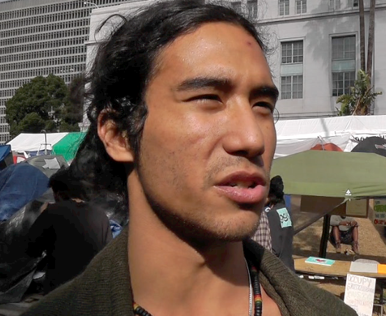 Video Tour of Occupy LA Encampment