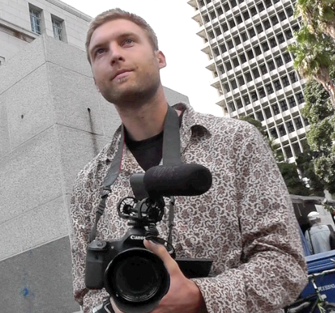 "Occupy LA Cameraman: ""This is history in the making"""