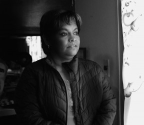 Cipriana Jurado Herrera, 49, has been living in Santa Fe, New Mexico, since 2011. As a well known labor and human rights activist, she had to flee Ciudad Juárez after being kidnapped by unidentified, plain-clothes men claiming to be federal agents.