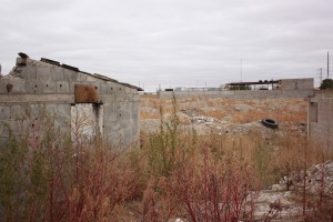 In Ciudad Juárez, in between the hundreds of maquiladoras and neighborhoods, are abandoned houses and flat fields with riddled with trash.