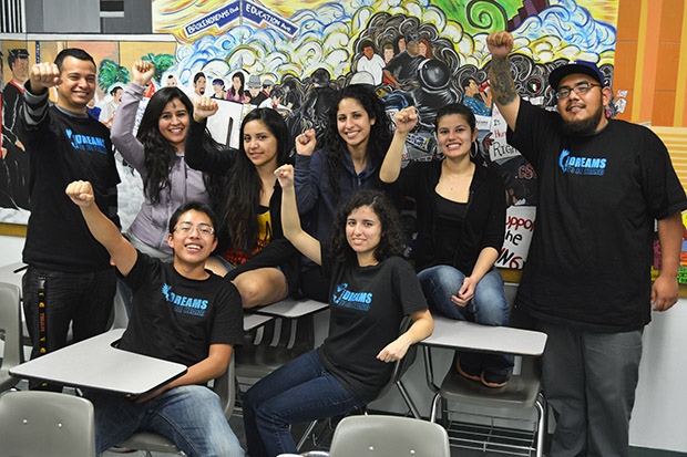 After organizing with CSUN administration, Dreams To Be Heard members will be opening an undocumented resource office in the Fall. Photo Credit: John Saringo-Rodriguez