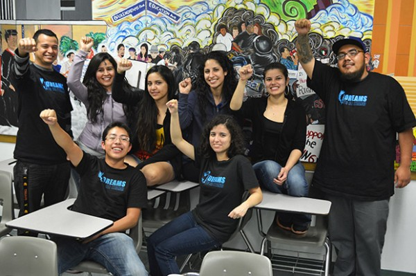 After organizing with CSUN administration, Dreams To Be Heard members will be opening an undocumented resource office in the Fall. Photo: John Saringo-Rodríguez/El Nuevo Sol