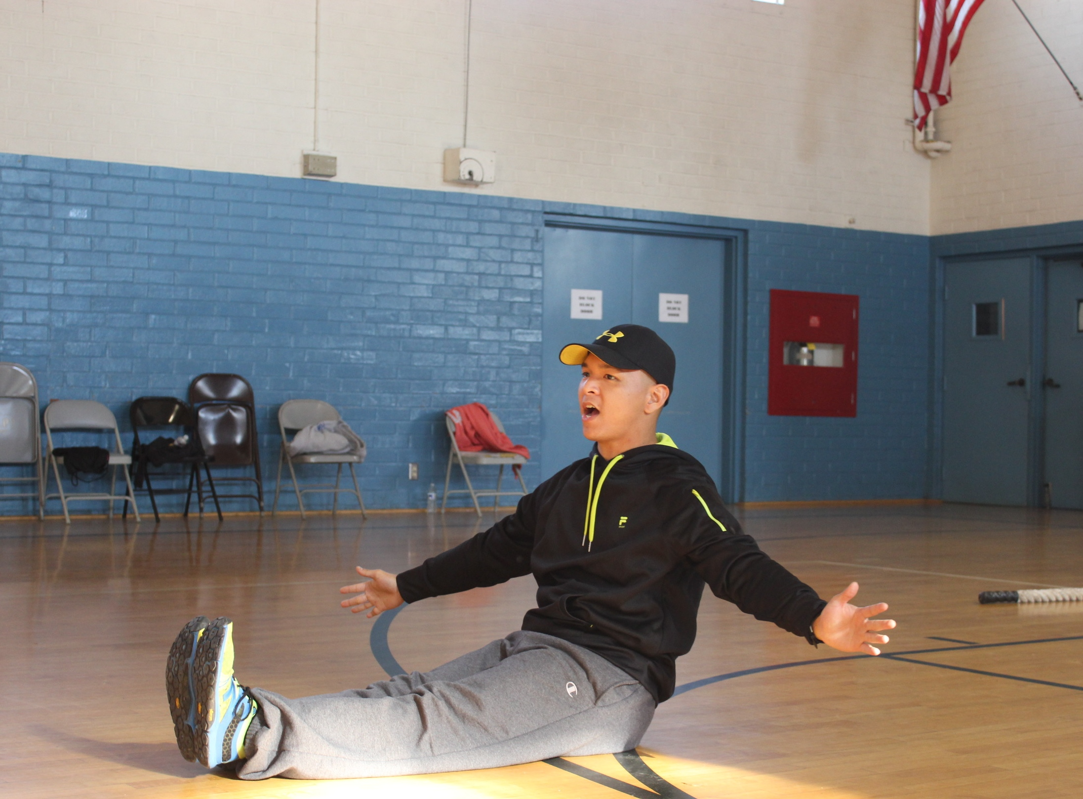 Student motivates others to exceed their physical health limits