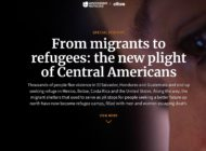 Central Americans' Plight: A Wave of Refugees to Escape Violence and Crime